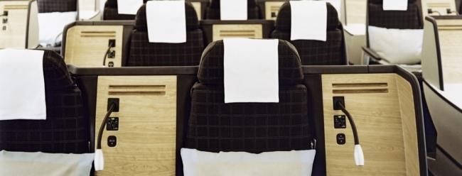 Swiss business class
