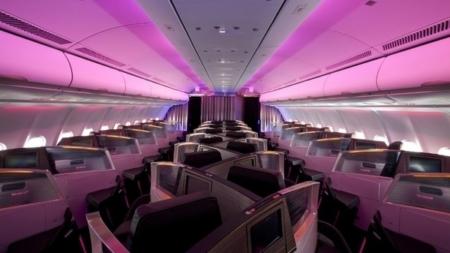 Virgin A330 interior
