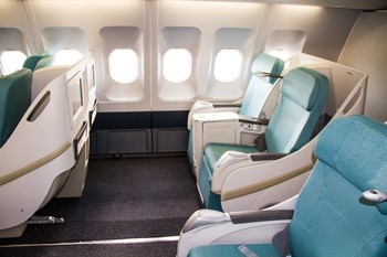 Czech Airlines A330 business class
