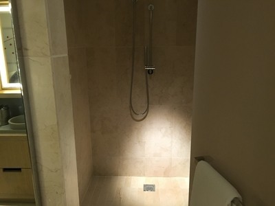 Conrad New York shower review