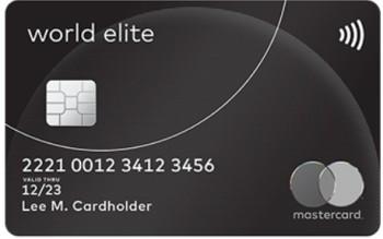 world elite mastercard