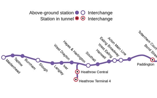 Crossrail map 2
