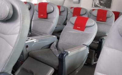 Norwegian premium review - reclined seat pr picture