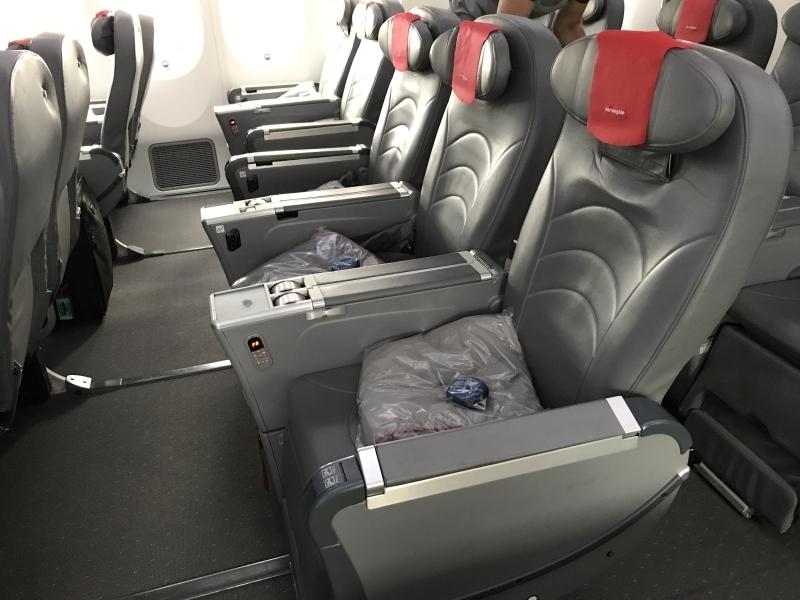 norwegian premium review - gatwick new york premium seats