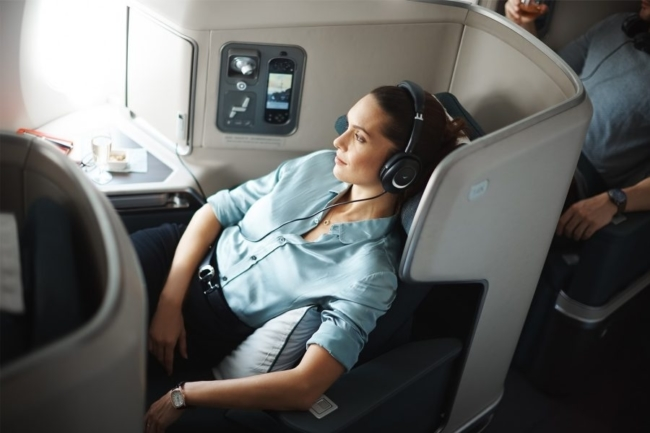 Cathay A350 business class
