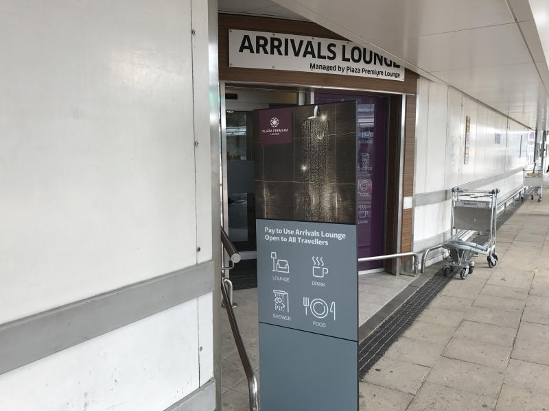 Review Plaza Premium arrivals lounge Heathrow Terminal 3