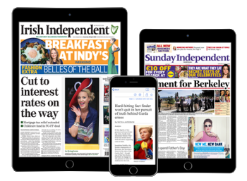 Irish Independent digital offer