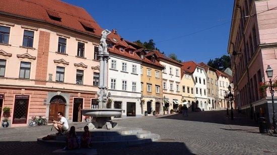 Ljubjiana old town
