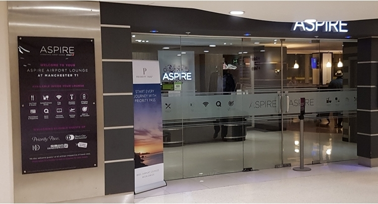 Aspire Lounge T1 Manchester Airport Review 2