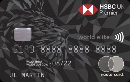 HSBC Premier World Elite credit card