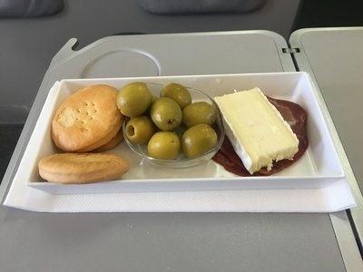 Iberia Express business class food review