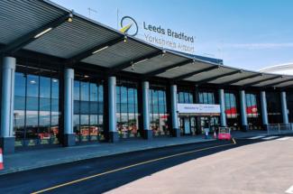 Leeds Bradford Airport terminal