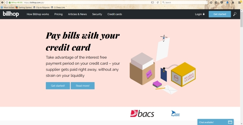 How to pay bills on a credit card with Billhop