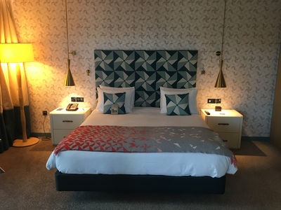 Hilton Bournemouth review bedroom