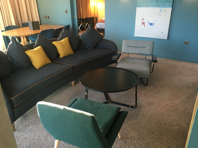 Hilton Bournemouth suite