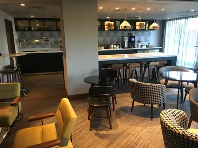 Hilton Bournemouth executive lounge review
