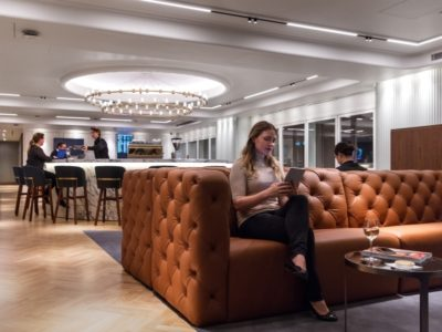Qantas Lounge Heathrow Terminal 3