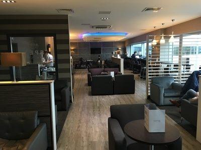 Aspire Lounge Edinburgh Airport review