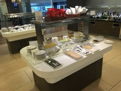 Review British Airways Galleries Lounge Edinburgh Airport
