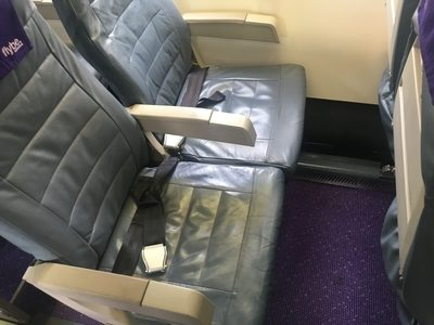 Flybe London Heathrow to Edinburgh flight review