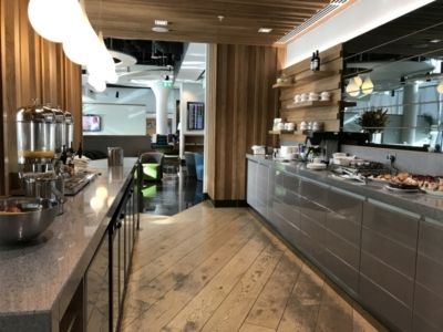 Review Aer Lingus Lounge london heathrow t2