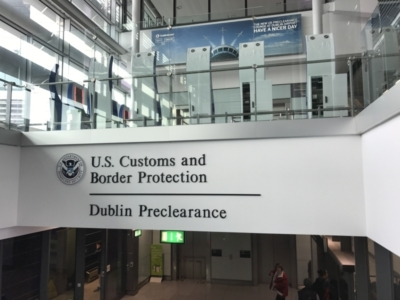 US preclearance at Dublin Airport