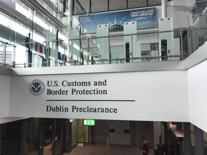 US preclearance at Dublin Airport