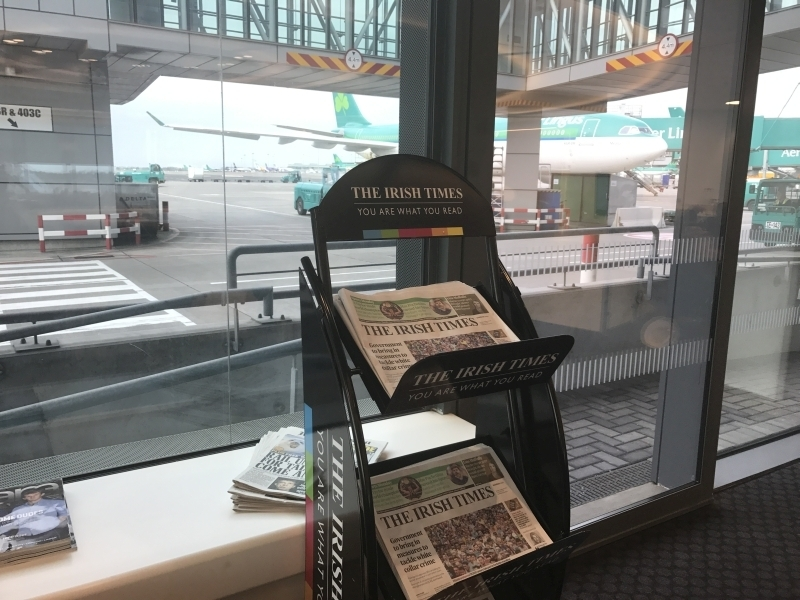 review 51st and green preclearance lounge at dublin airport