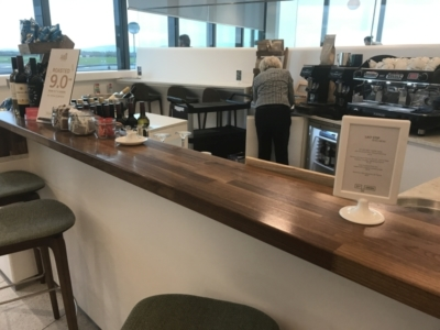 51st and Green preclearance lounge review at dublin airport