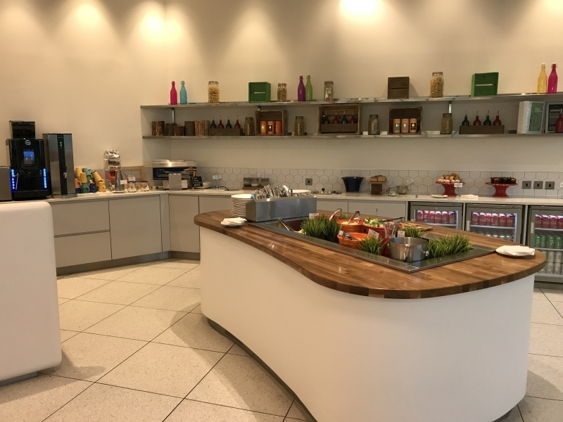 51st and Green preclearance lounge at Dublin Airport