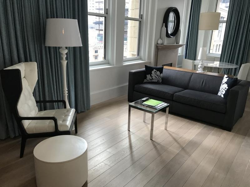 Ames Boston Hotel suite