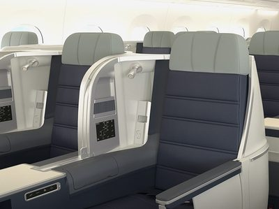 Malaysia Airlines A350 business class