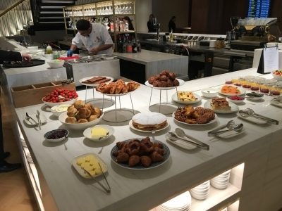 Review Qantas lounge Heathrow Terminal 3