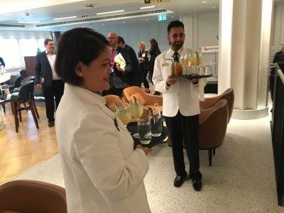 Review Qantas lounge Heathrow Terminal 3