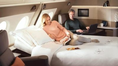 Singapore Airlines new A380 First Class suite