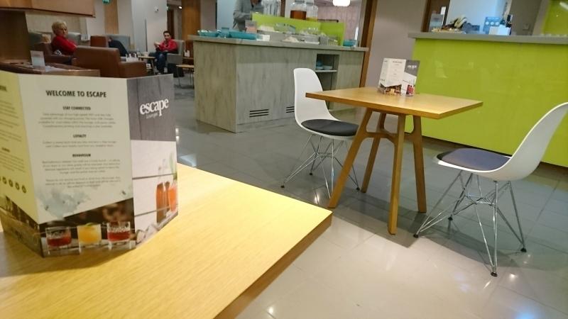 review escape lounge manchester terminal 1