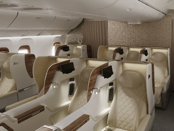 Emirates new Boeing 777 business class
