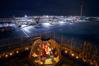 Virgin Atlantic Clubhouse Coppa Club igloo