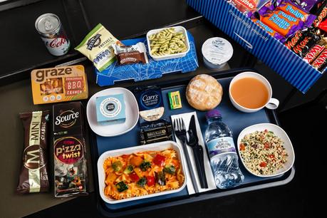 New British Airways economy catering
