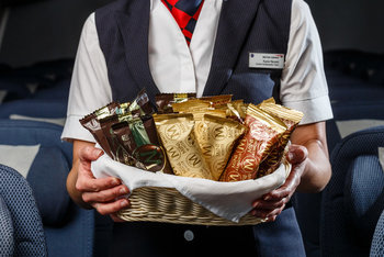 New British Airways economy catering