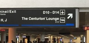 Amex Centurion airport lounges in the US, HK and soon UK