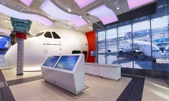 Emirates flight simulator North Greenwich