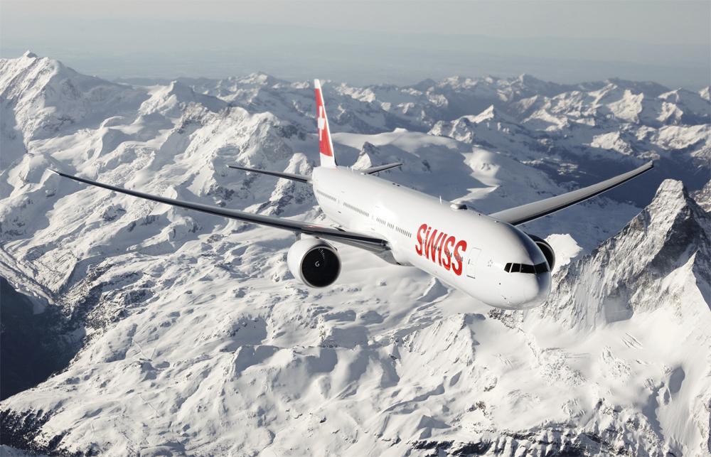 Swiss Boeing 777