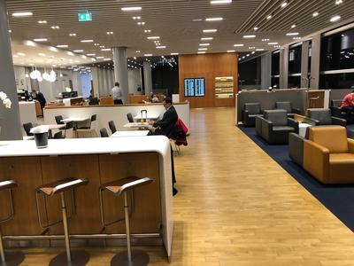 Lufthansa Business lounge review Heathrow Terminal 2