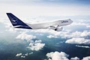 Lufthansa 747-8 new livery