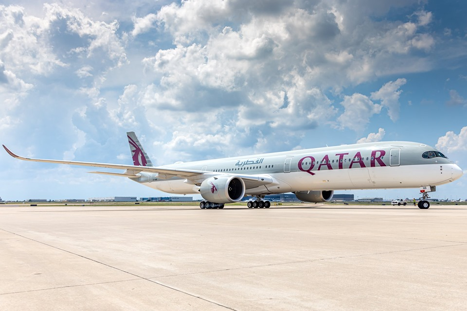 Qatar Airways routes from the UK