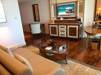 Waldorf Astoria Dubai room