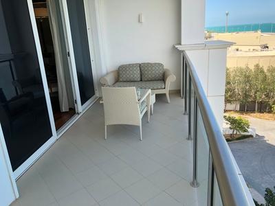 Waldorf Astoria Dubai review balcony