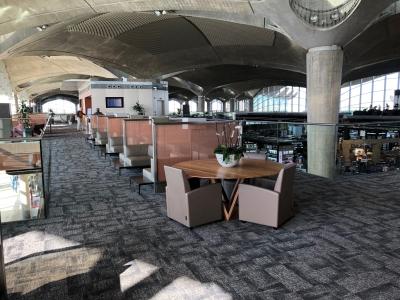 Royal Jordanian's flagship Crown Lounge