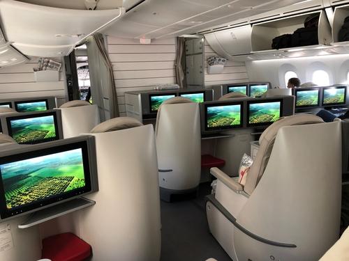 Royal Jordanian Amman to London Heathrow 787 review